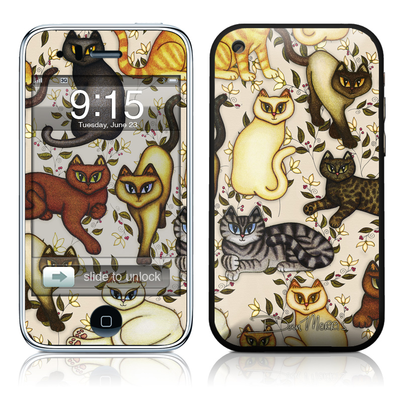 iPhone 3G Skin - Cats