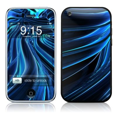 iPhone 3G Skin - Cerulean