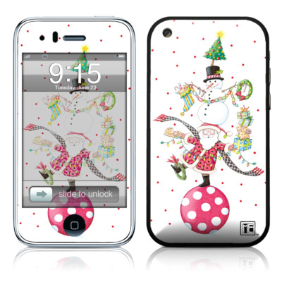 iPhone 3G Skin - Christmas Circus