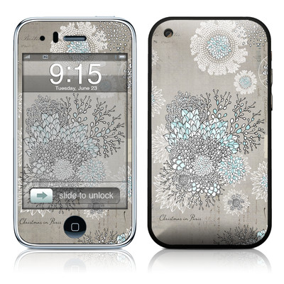 iPhone 3G Skin - Christmas In Paris