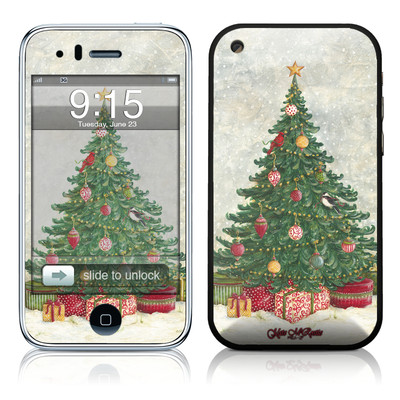 iPhone 3G Skin - Christmas Wonderland