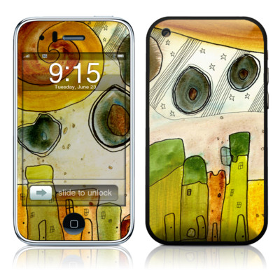 iPhone 3G Skin - City Life
