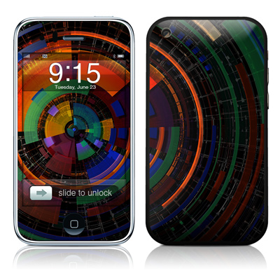 iPhone 3G Skin - Color Wheel
