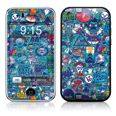 iPhone 3G Skin - Cosmic Ray