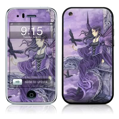 iPhone 3G Skin - Dark Wings