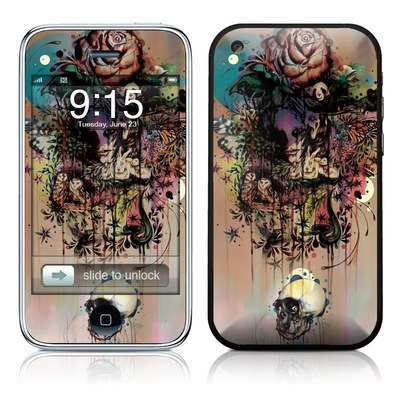 iPhone 3G Skin - Doom and Bloom