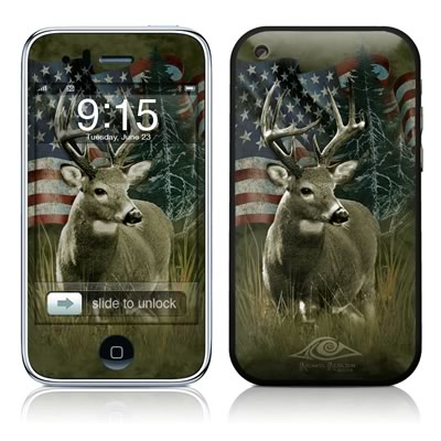 iPhone 3G Skin - Deer Flag