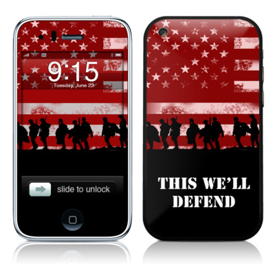 iPhone 3G Skin - Defend