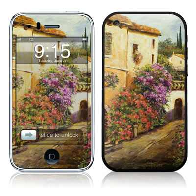 iPhone 3G Skin - Via Del Fiori