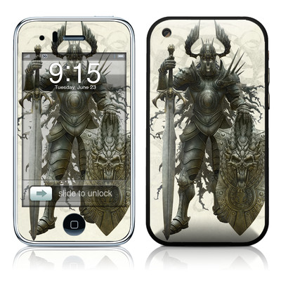 iPhone 3G Skin - Dark Knight