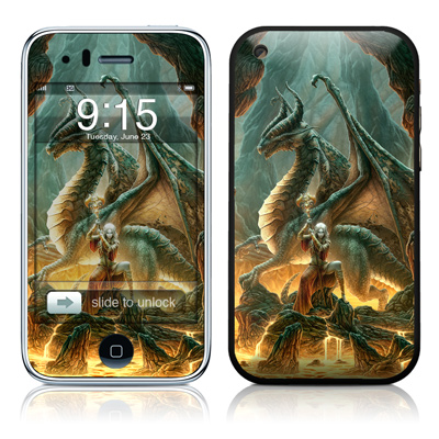 iPhone 3G Skin - Dragon Mage