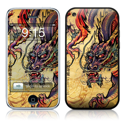 iPhone 3G Skin - Dragon Legend
