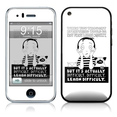 iPhone 3G Skin - Easy Peasy