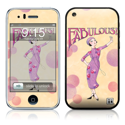 iPhone 3G Skin - Fabulous