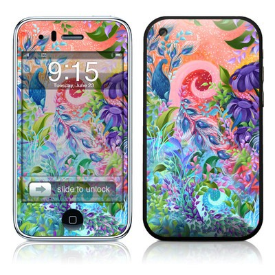 iPhone 3G Skin - Fantasy Garden
