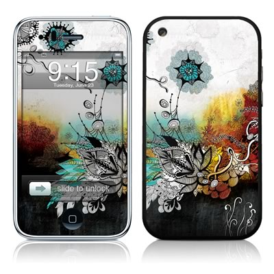 iPhone 3G Skin - Frozen Dreams