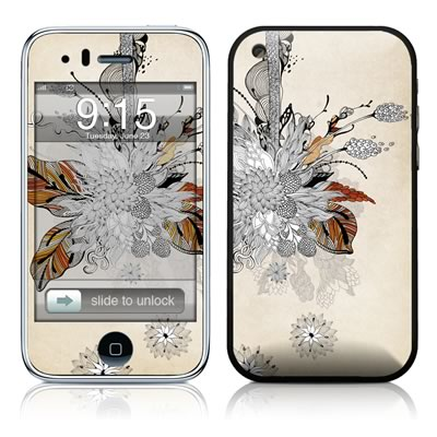 iPhone 3G Skin - Fall Floral