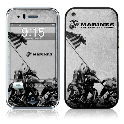 iPhone 3G Skin - Flag Raise