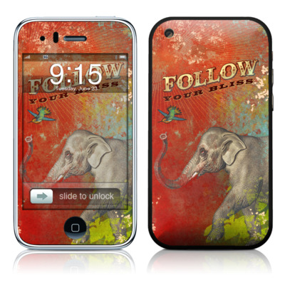 iPhone 3G Skin - Follow Your Bliss