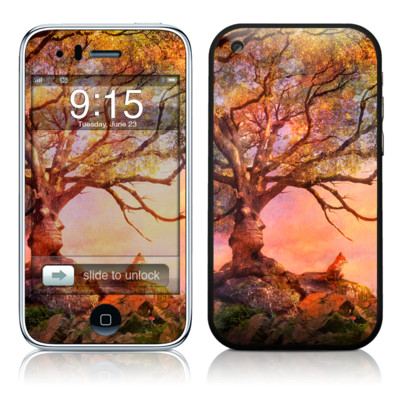 iPhone 3G Skin - Fox Sunset