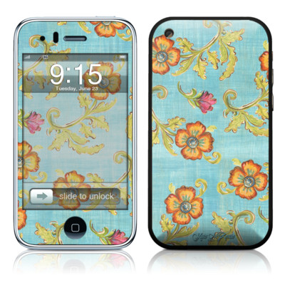 iPhone 3G Skin - Garden Jewel