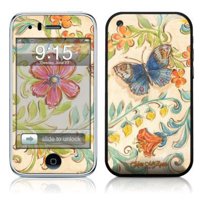 iPhone 3G Skin - Garden Scroll