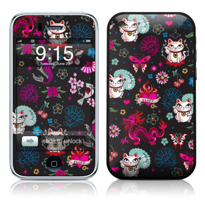 iPhone 3G Skin - Geisha Kitty