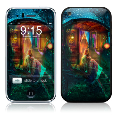 iPhone 3G Skin - Gypsy Firefly