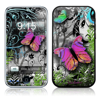iPhone 3G Skin - Goth Forest