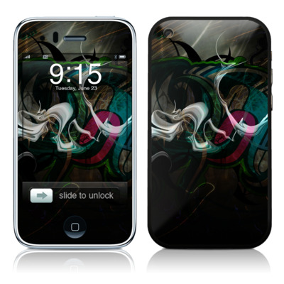 iPhone 3G Skin - Graffstract