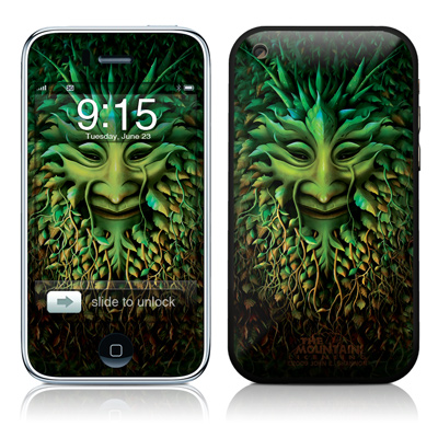 iPhone 3G Skin - Greenman