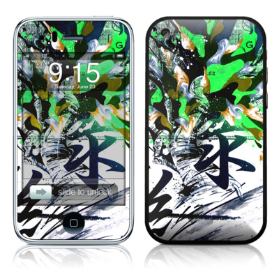 iPhone 3G Skin - Green 1