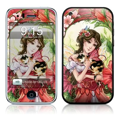 iPhone 3G Skin - Hibiscus Fairy