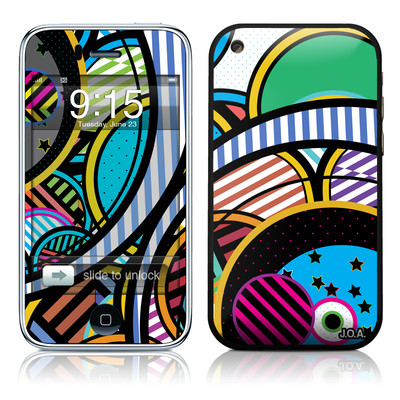 iPhone 3G Skin - Hula Hoops