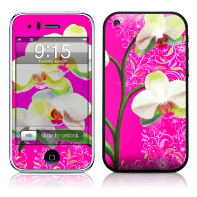 iPhone 3G Skin - Hot Pink Pop
