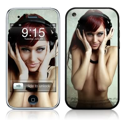 iPhone 3G Skin - Headphones