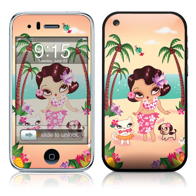 iPhone 3G Skin - Hula Lulu