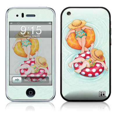 iPhone 3G Skin - Inner Tube Girls
