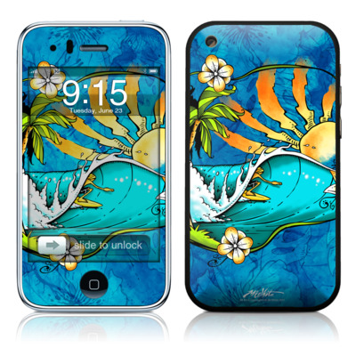 iPhone 3G Skin - Island Playground