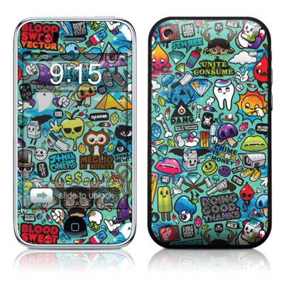 iPhone 3G Skin - Jewel Thief