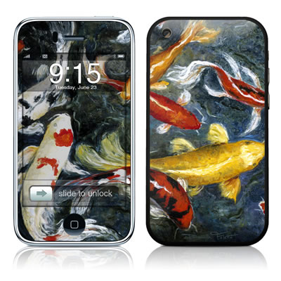 iPhone 3G Skin - Koi's Happiness
