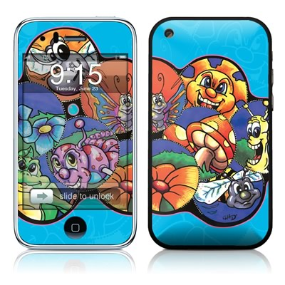 iPhone 3G Skin - Krazy Kritters
