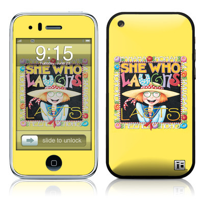 iPhone 3G Skin - She Who Laughs
