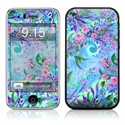 iPhone 3G Skin - Lavender Flowers
