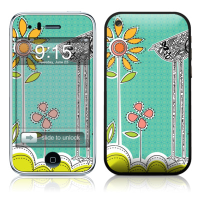 iPhone 3G Skin - Little Chicken