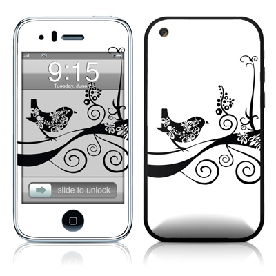 iPhone 3G Skin - Little Curly