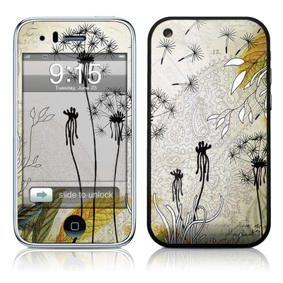 iPhone 3G Skin - Little Dandelion