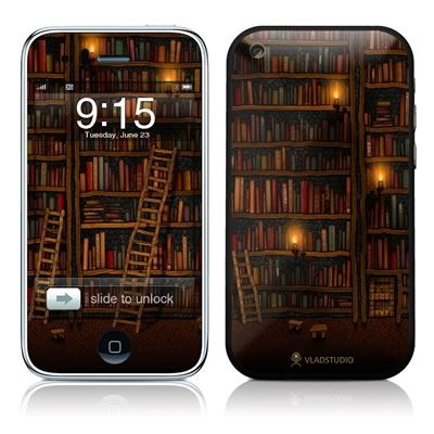 iPhone 3G Skin - Library