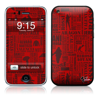 iPhone 3G Skin - Life of MotoGP