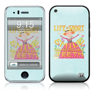 iPhone 3G Skin - Life is Short